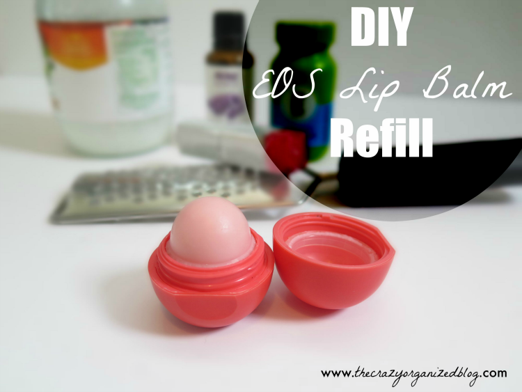 Easy DIY lip balm refill tutorial. Don't buy expensive lip balm - Make Your Own with just a couple ingredients. High quality and easy to make!