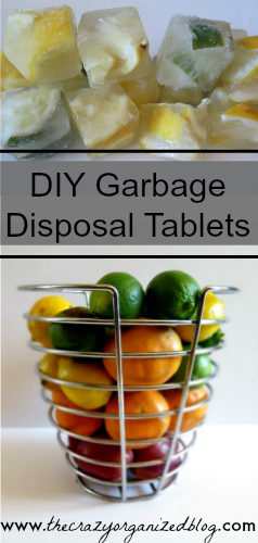 Easy to make natural Garbage Disposal Tablets that you can freeze for quick use! The best part? You make with ingredients from your kitchen!