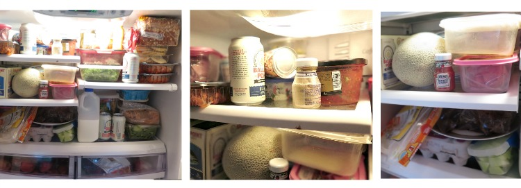 How to clean & organize a refrigerator ... and keep it that way! Great tips and ideas for easy & practical refrigerator organization!