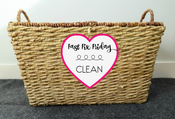 keeping our homoe clean and clutter free with this one step!