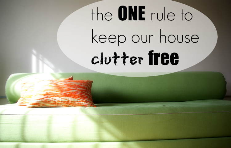 Goodbye house clutter! This one solution saved us from a messy house!
