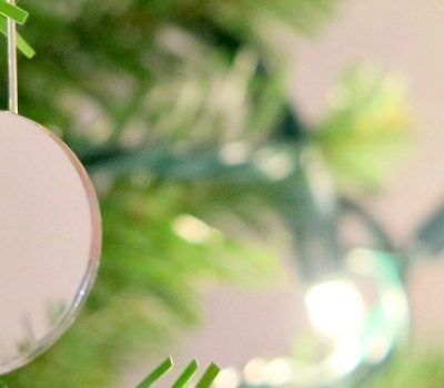 Make your Christmas tree sparkle with one easy hack! It's easy to do and will make your tree shine & glisten! Merry Christmas!