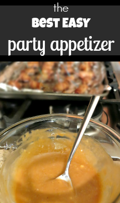 My most popular party appetizer is also amazingly easy and only needs a couple of ingredients. Whip it up in no time for your next party!
