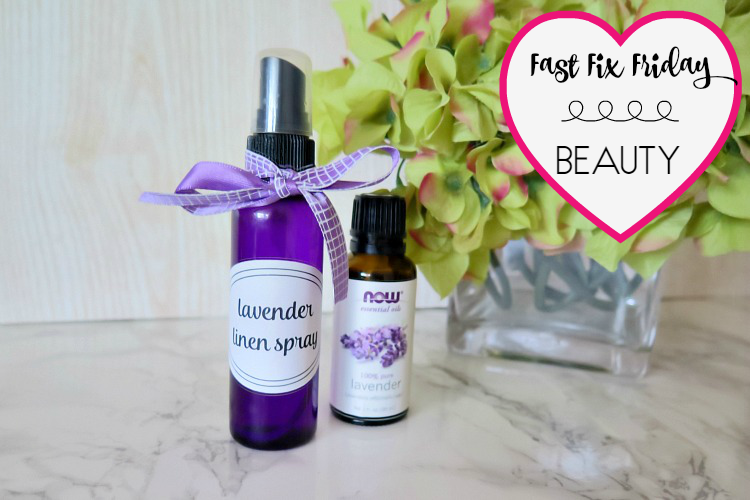 This DIY lavender linen spray is my newest trick to help me fall asleep at night! It smells fabulous & has a calming effect. It's quick & affordable!