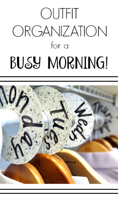 Make Your Mornings Easier And Stress Free With These DIY Outfit Labels! No  More Standing