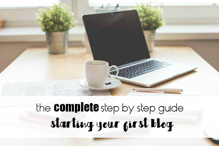 How to start a blog (a step by step guide) | passive income m. D.