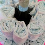 Modern Twist on a Classic Baby Shower Diaper Cake