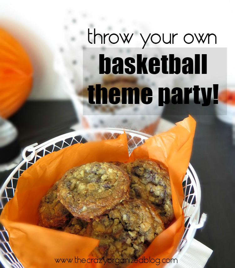 Plan the ultimate tournament Basketball Party with these decorating ideas & tips. Surprise your guests with our potato chip cookie recipe!