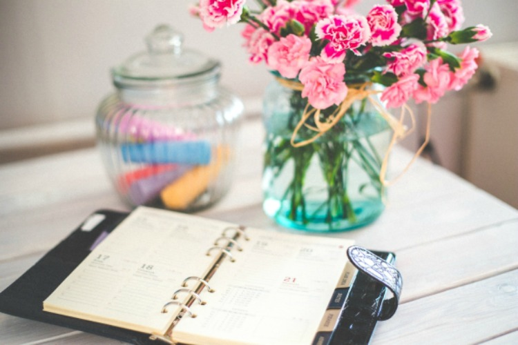 Working from home can be challenging (but awesome). Implement these top tips to be more productive at while working at home!