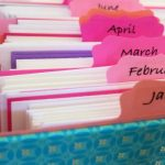Greeting Card Organizer for Every Month