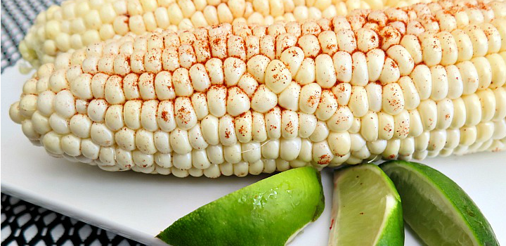 Make a delicious corn on the cob recipe in just 5 minutes! Use your microwave and a couple extra ingredients for a yummy side to any meal!