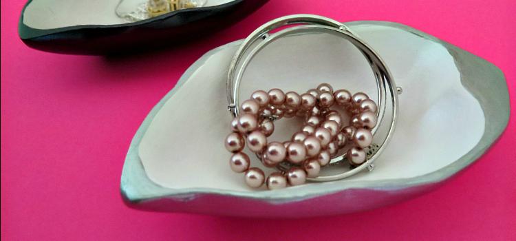 Upcycled Jewelry Holder