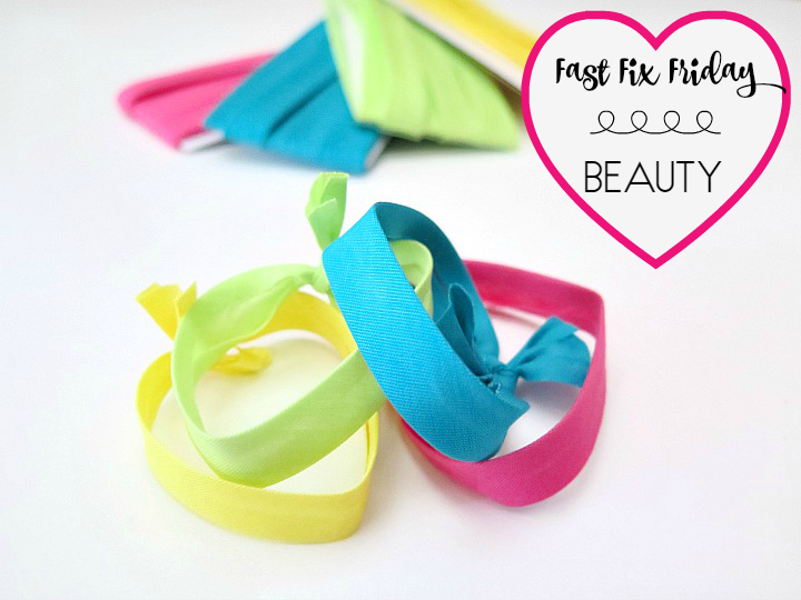 Stop paying big bucks for the newest trend in hair ties ..... Make your own for a fraction of the price. Watch our step by step tutorial to show you how!