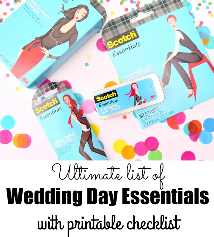 Every bride needs these essentials on their wedding day! Create your own Wedding Day Essentials Kit to ensure your wedding goes off without a hitch!
