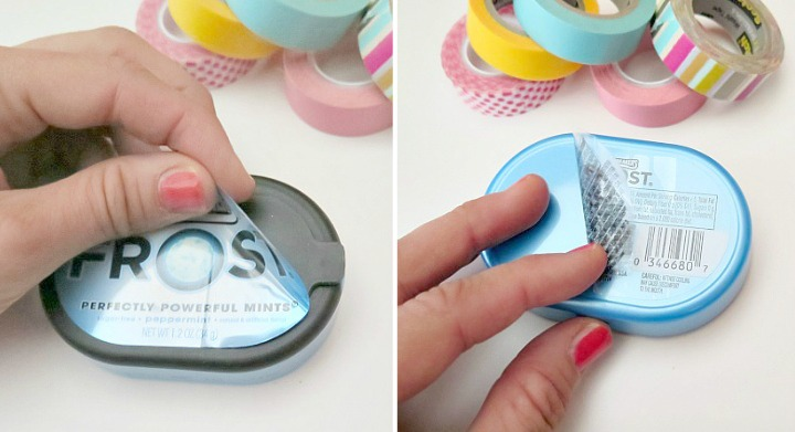 The easiest DIY solution to making a holder for your headphones (out of a mint tin)!