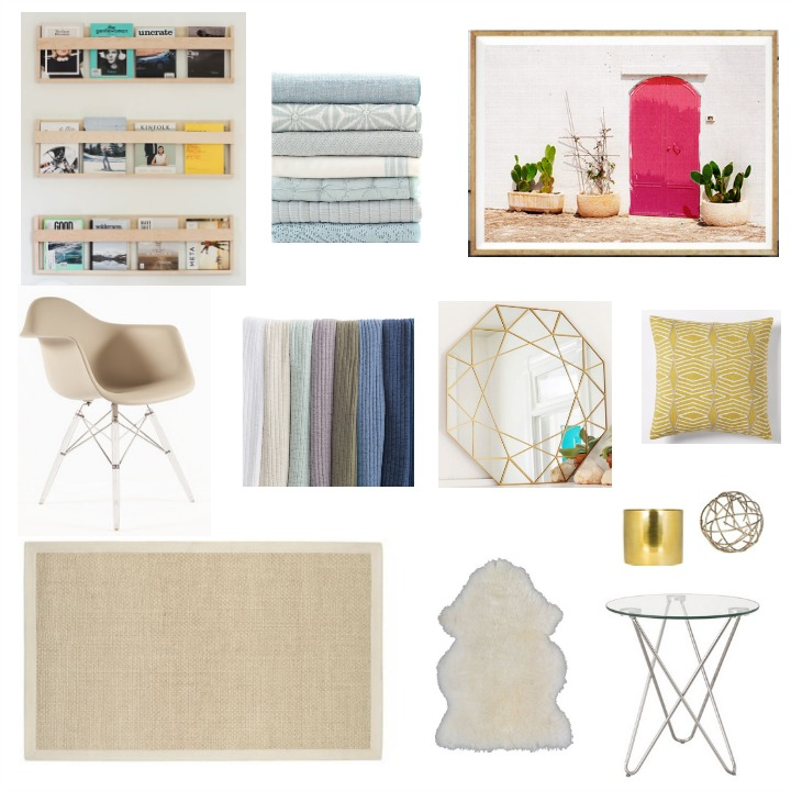 Contemporary guest bedroom design