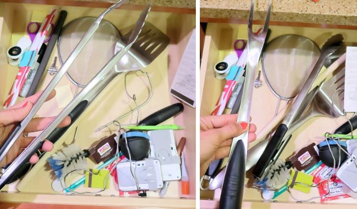 DIY Triangular Kitchen Drawer Divider Step By Step Guide Solves All My  Kitchen Storage Problems!