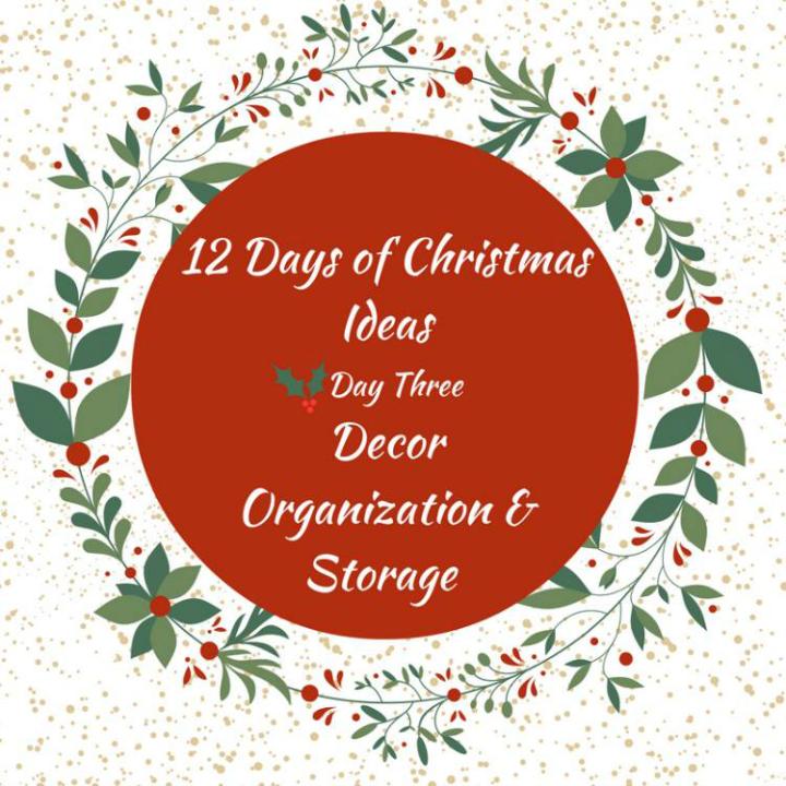 12 Holiday Decoration Organizing Tips 2
