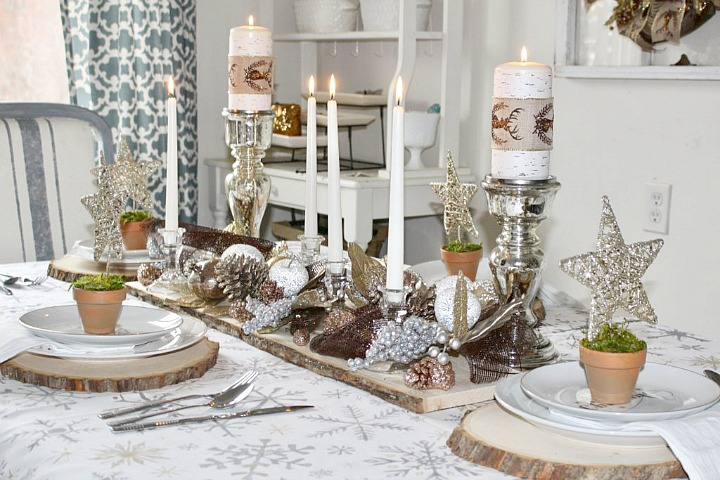 Beautiful Christmas Tablescapes 12 Days Of Christmas