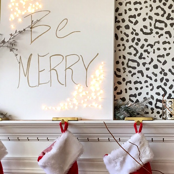 Take at look at these breathtaking Christmas mantels. With step by step instructions, you'll be able to create your own in no time!