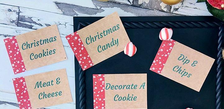 FREE Christmas Printables // 12 Days of Christmas