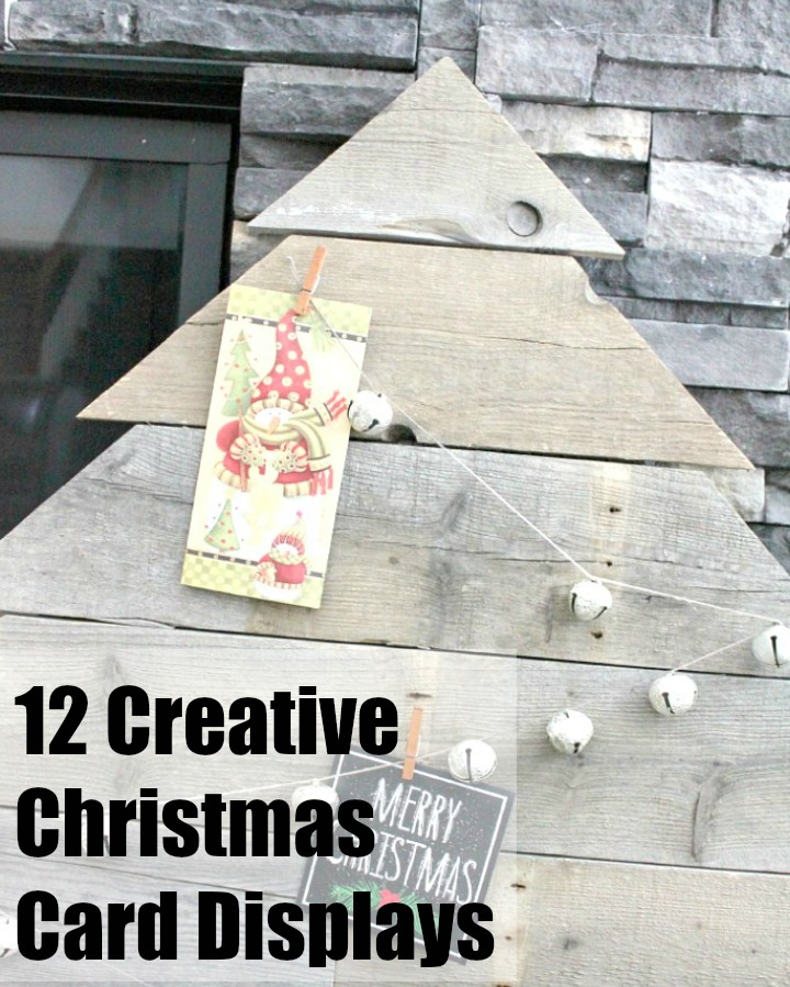 Huge collection of unique Christmas Card Displays as part of our 12 Days of Christmas Ideas Series.