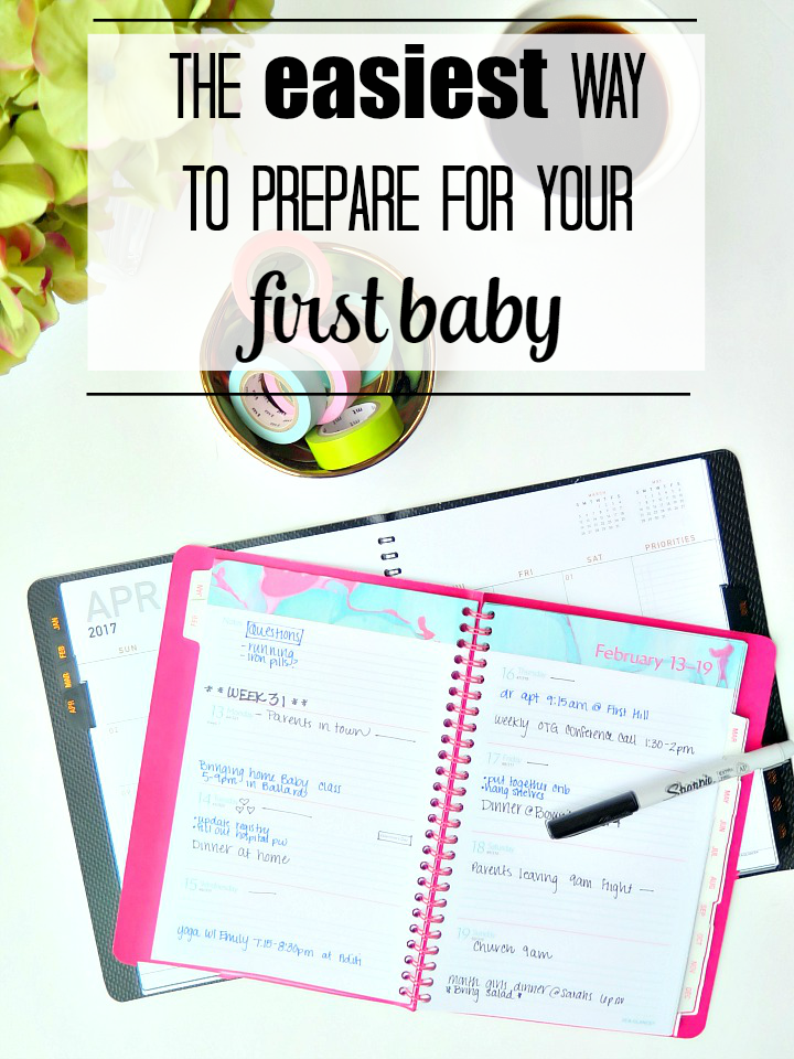The best way to prepare for your first baby!