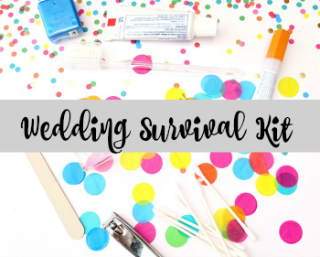 Wedding Day Survival Kit and Checklist