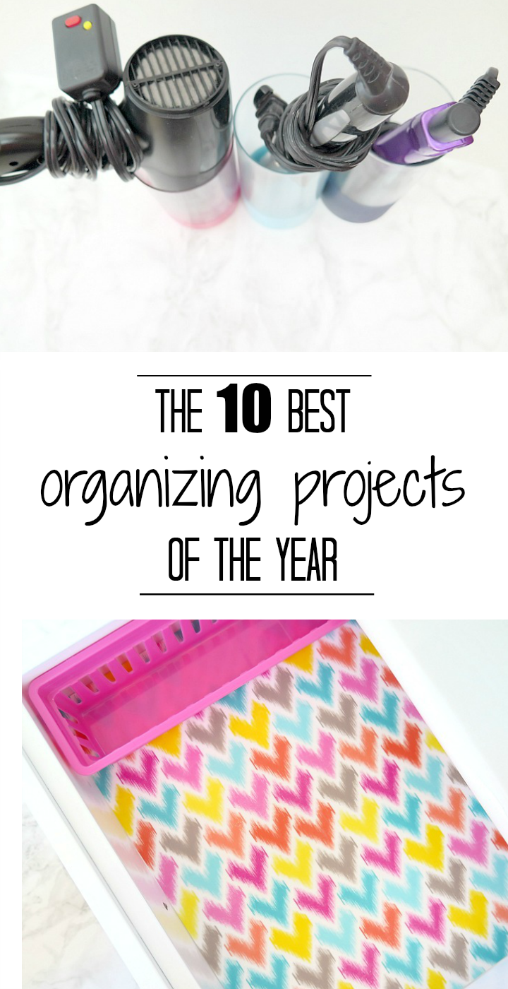 The BEST (and easiest) home organizing projects of the year!