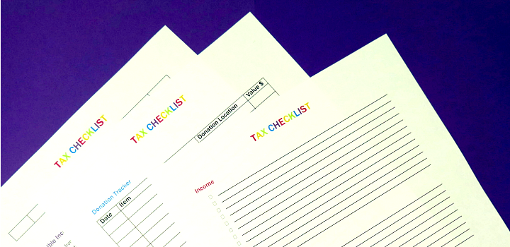 My Favorite Tax Organization Tips + Printable Checklist