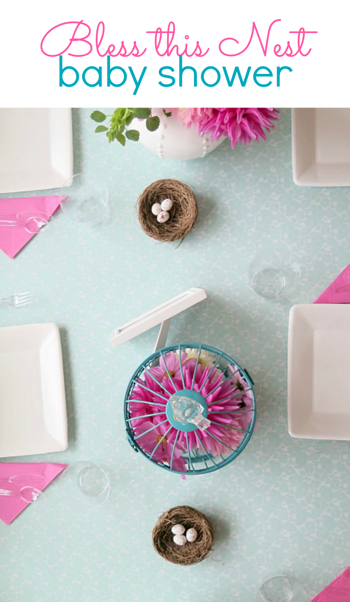 Step by step instructions to decorate for your next baby shower! This easy to follow tutorial shows frugal, yet gorgeous ideas to wow all your guests!