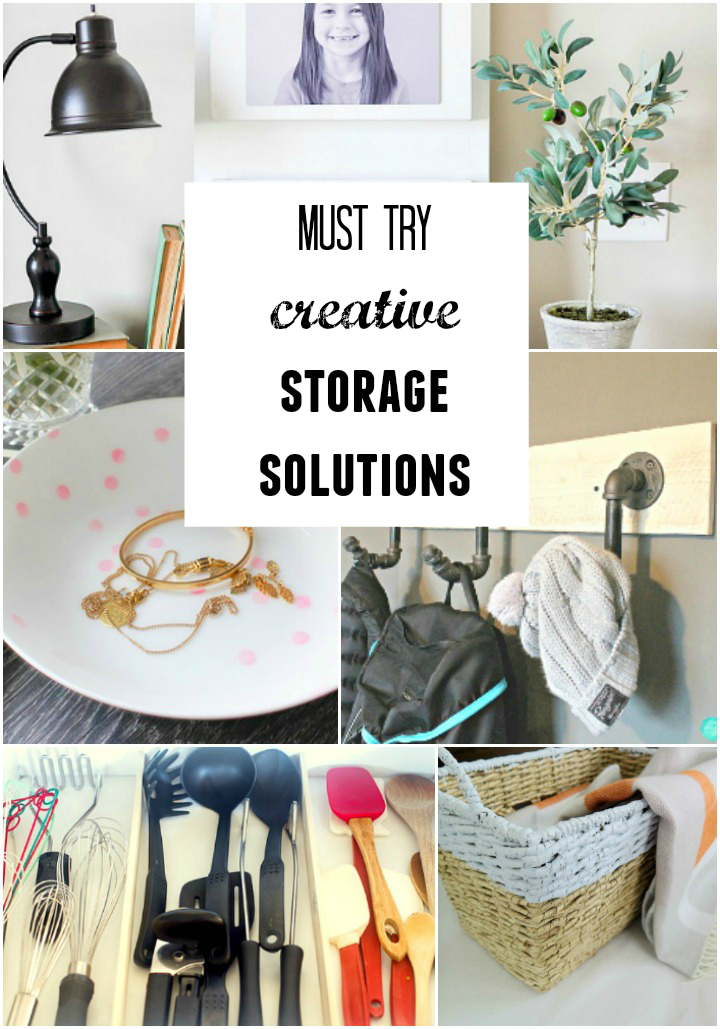 Take a look at these incredibly creative, yet practical storage solutions for all areas of the home! Perfect ways to eliminate clutter in any room.