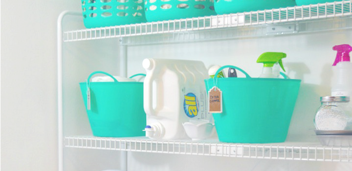 Dollar Store Organizing Ideas
