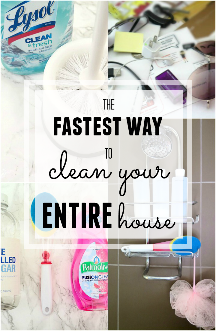 Our Top Five Surprisingly Speedy Cleaning Solutions - Fastest way to clean a bathroom