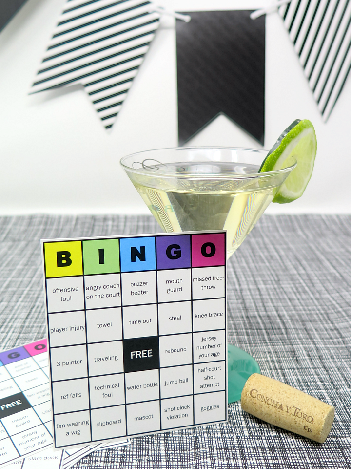 Use our downloadable basektball bingo printable game cards for your next big playoffs party! Great entertainment for all your guests - basketball twist on a favorite game!