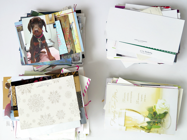 The smart way to organize your Christmas cards: digitally!