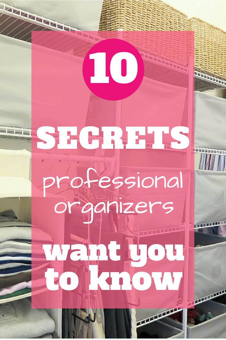These are the top 10 pet peevse that all professional organizers wish their clients knew! They're easy quick fixes that make a huge difference!