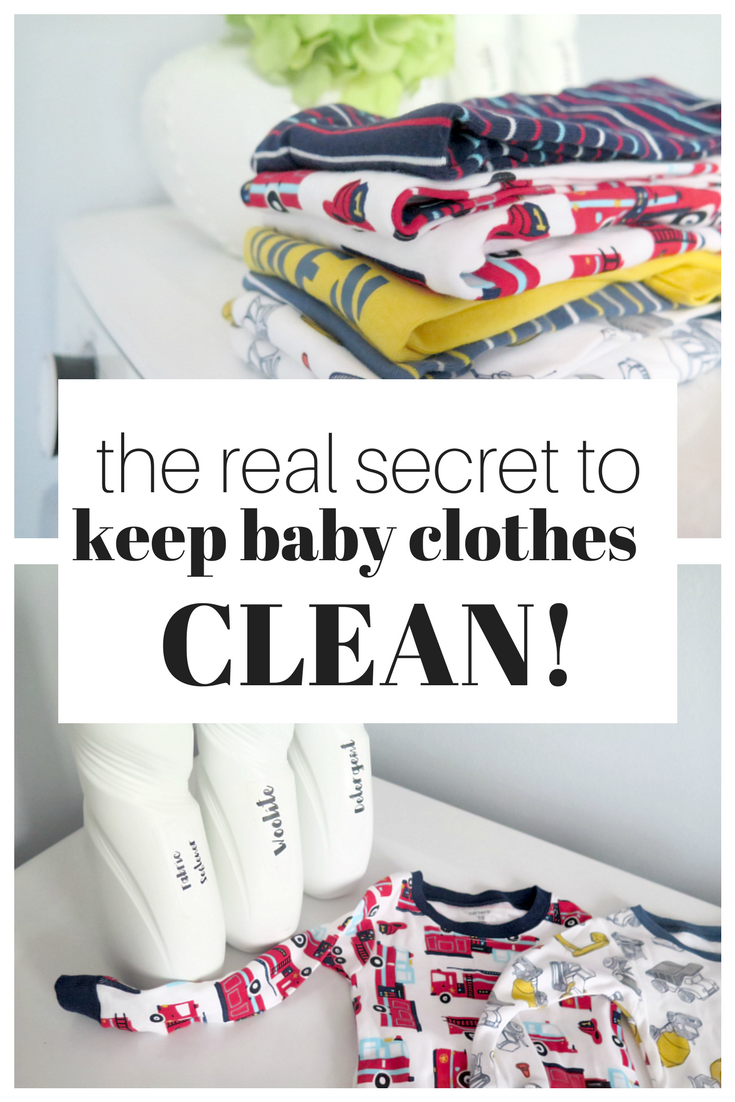 The best tips and tricks every mom needs to know to keep baby clothes clean!
