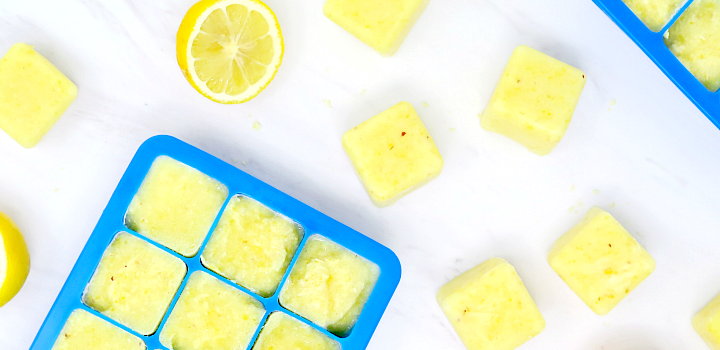 Whole Lemon Ice Cubes