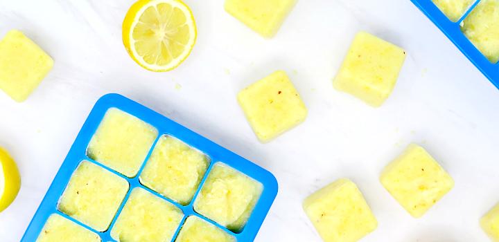 Whole Lemon Ice Cubes
