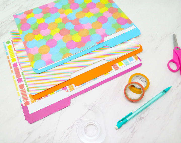Incredibly Easy Decorative Diy File Folders To Keep Your Organized